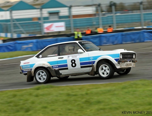Ian Woodhouse & Paul Rowland win the 2016 Imperial Commercials Volkswagen Donington Rally